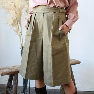 Vintage 1980s Culotte Shorts